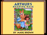Arthur's Reading Race Windows 3.x Title screen.