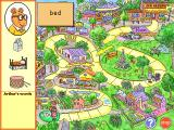 Arthur's Reading Race Windows 3.x There is also a board game: a race to the ice cream parlor.