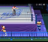 Jikkyō Power Pro Wrestling '96: Max Voltage SNES Look at that pussy running.
