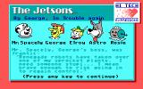 The Jetsons in By George, in Trouble Again DOS Instructions