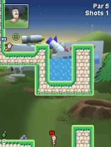 Worms Crazy Golf J2ME Second course