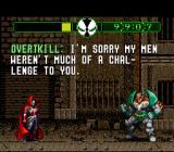 Todd McFarlane's Spawn: The Video Game SNES The first boss