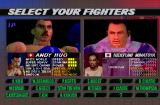 K-1 Revenge PlayStation Select your fighters.