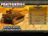 Panzerkrieg: Burning Horizon 2 Windows Main screen