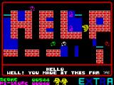 Pi-In'Ere ZX Spectrum Level 2: The last two.