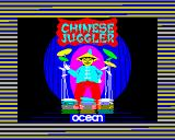 Chinese Juggler ZX Spectrum Loading screen.