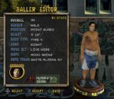 Street Hoops PlayStation 2 Creating a new player<br>Player names are chosen from a preset list
