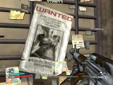 Borderlands: The Secret Armory of General Knoxx Windows Here and there you see wanted-posters, sometimes for the player characters, but here it's for Athena...I assume. The photographer must have been distracted.
