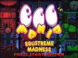 Egg Mania PlayStation 2 Title screen