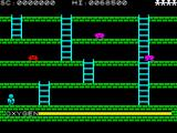 Digger Dan ZX Spectrum Starting the game.
