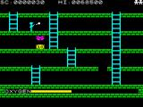 Digger Dan ZX Spectrum Two stomped monsters in a row.