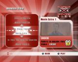 The X Factor Sing PlayStation 2 Extras: The in-game extras are videos which the player unlocks as they progress through the game