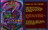 Epic Pinball DOS Rules of Toy Factory