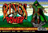 Rings of Power Genesis Title screen