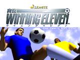 J. League Jikkyō Winning Eleven PlayStation Title screen.