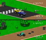 RPM Racing SNES Custom Track is finally good.