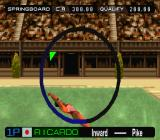 International Track & Field 2000 PlayStation That will hurt when she hits the water...