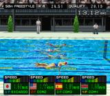 International Track & Field 2000 PlayStation Women's Swimming - 50m freestyle.