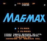 MagMax NES North American Title Screen