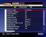 NBA 2K3 PlayStation 2 Game Modes<br>