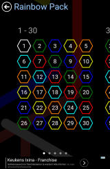 Flow Free: Hexes Android The Rainbow Pack