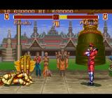 Super Street Fighter II SNES M. Bison is ready to go to third and final round