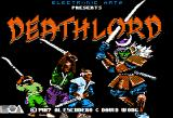 Deathlord Apple II Title screen