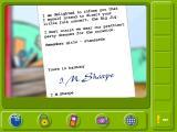 LEGO Friends Windows A letter from Mrs. I.M. Sharpe.