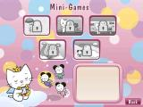 Angel Cat Sugar Windows The Extras menu option gives access to this set of mini games,  a set of printable pictures, and Angel Cat's handbag.