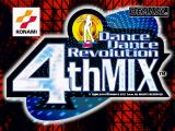 Dance Dance Revolution: 4th Mix PlayStation Title screen.