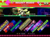 Dance Dance Revolution: 4th Mix PlayStation Select a song.