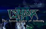 Ishar 3: The Seven Gates of Infinity DOS Title screen