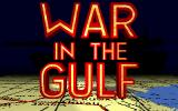 War in the Gulf DOS Title screen (VGA)