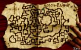 Ishar 3: The Seven Gates of Infinity DOS Map