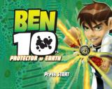 Ben 10: Protector of Earth PlayStation 2 The title screen