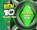 Ben 10: Protector of Earth PlayStation 2 The main menu - not a whole lot to do here