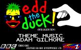 Edd the Duck! Amiga Credits Screen