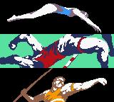ESPN International Track & Field Game Boy Color Intro.