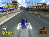 F1 Racing Championship PlayStation Arcade mode. Starting grid. Go!