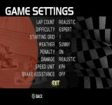 F1 Racing Championship PlayStation Game Settings. I like REAL stuff.