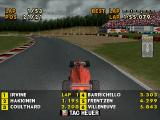 F1 Racing Championship PlayStation I'm Schumacher, not Irvine.