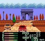 International Rally Game Boy Color France.