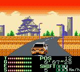 International Rally Game Boy Color One of the Japanese stages.