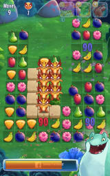 Fruit Nibblers Android To get these lizards you first need to get rid of the platforms.