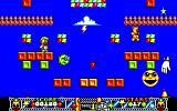Edd the Duck! Amiga Weather Department - you have to collect 20 stars in each level