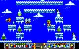 Edd the Duck! Amiga Weather Department - it's possible to freeze enemies for limited time