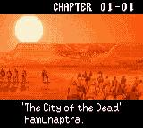 The Mummy Game Boy Color Chapter 01-01.