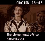 The Mummy Game Boy Color Rick was rescued from jail in exchange for his help in finding Hamunaptra. Evelyn seeks the artifact of Amon Ra... etc etc.