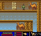 The Mummy Game Boy Color Chapter 05-01. Camels are needed to cross the wide and dangerous Sahara Desert... And now I can switch the characters.