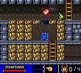 The Mummy Game Boy Color Chapter 07-02. Hamunaptra / Passage of Golden Scarabs.